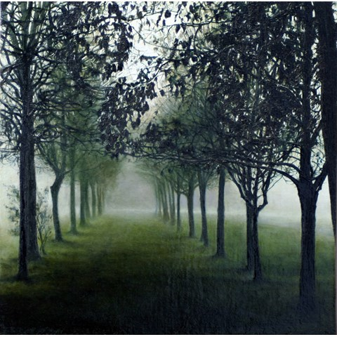 December Trees II by  at the Saffron Walden Gallery