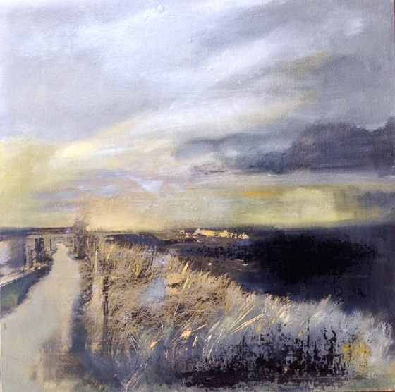 Out to Sea by Nikki Sims at the Saffron Walden Gallery