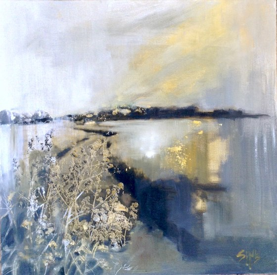 Edge of Sunshine by Nikki Sims at the Saffron Walden Gallery