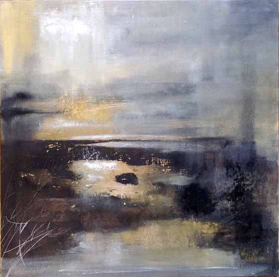 Light on Water by Nikki Sims at the Saffron Walden Gallery