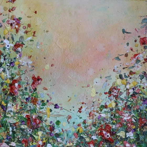 Amongst the Wild Flowers by Lee Herring at the Saffron Walden Gallery