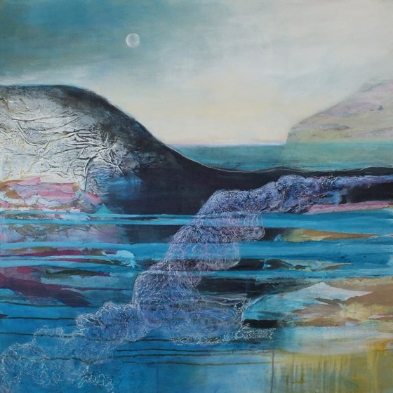 Approaching Solstice by Gail de Cordova at the Saffron Walden Gallery