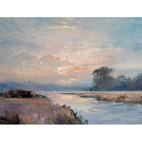 River View by Stephen James at the Saffron Walden Gallery