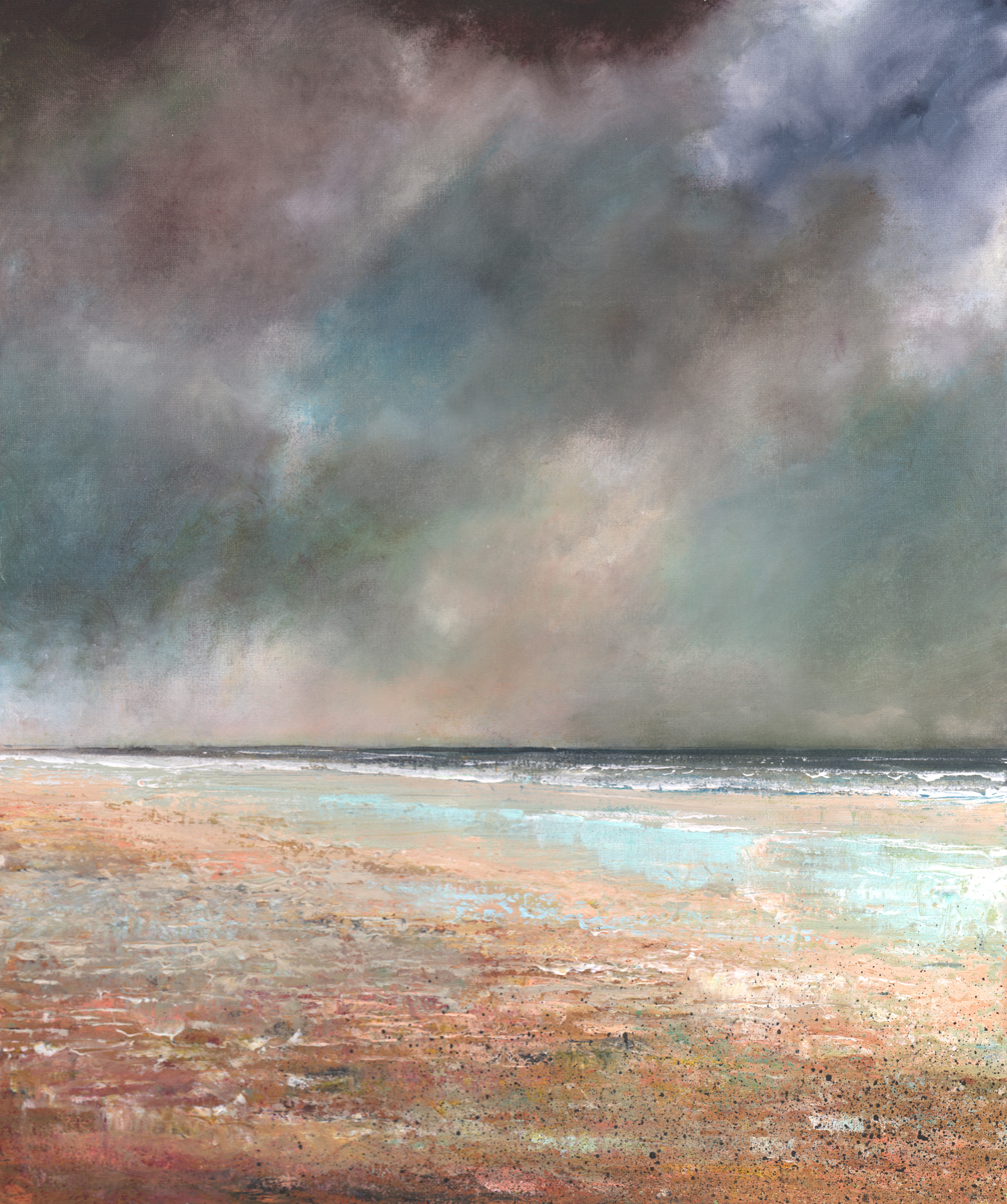 Cold Sea by John Tregembo at the Saffron Walden Gallery