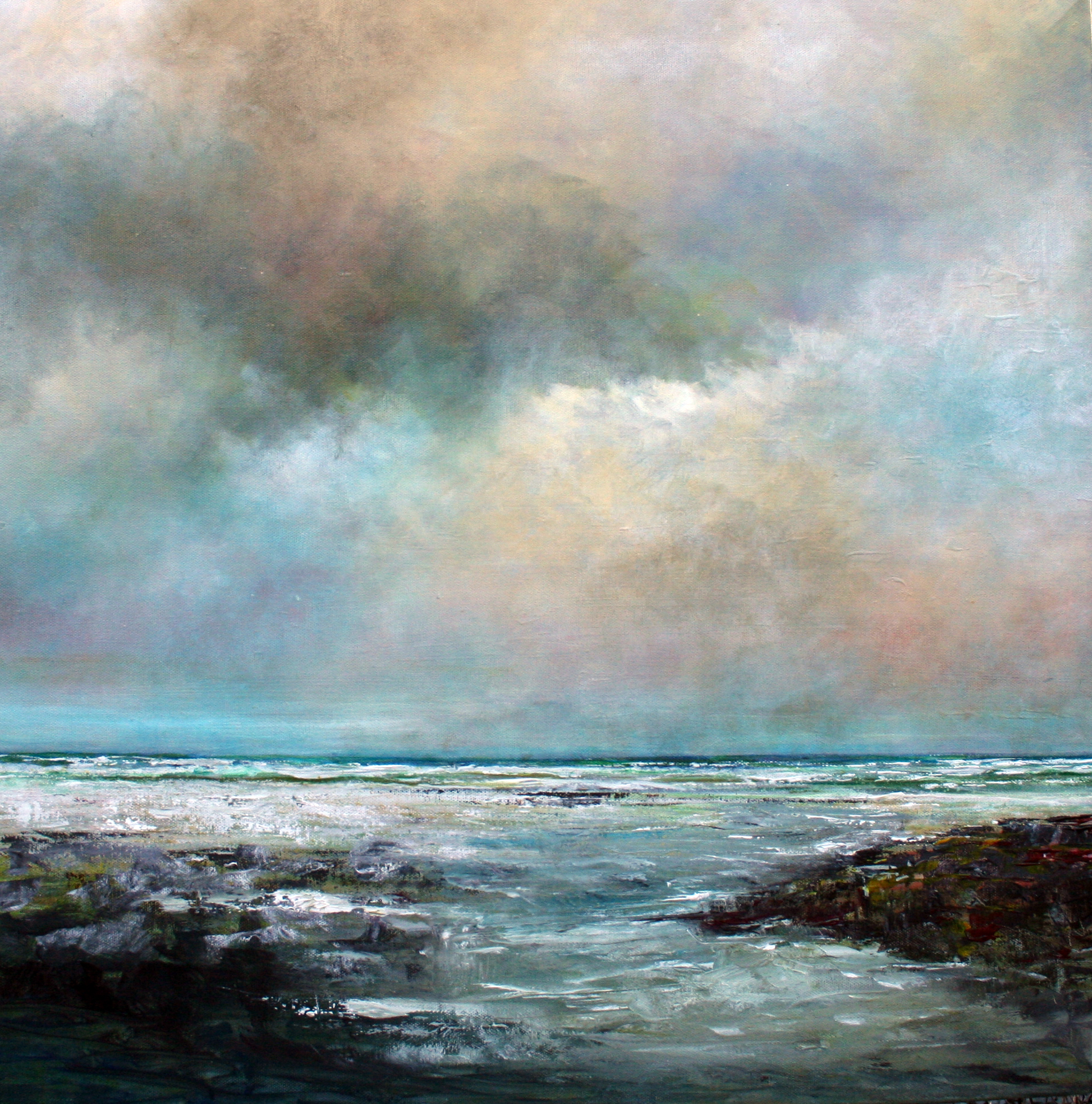 Sky Colours by John Tregembo at the Saffron Walden Gallery
