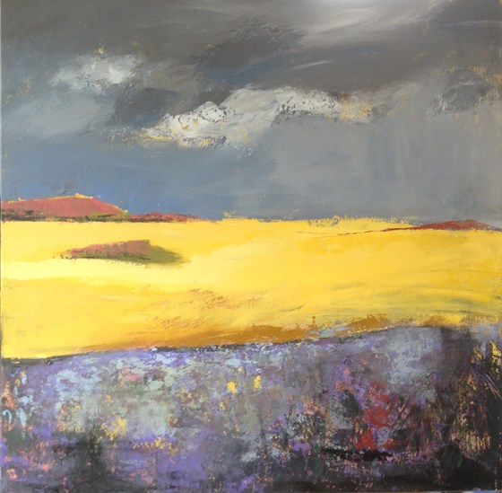 Summertime by Nikki Sims at the Saffron Walden Gallery