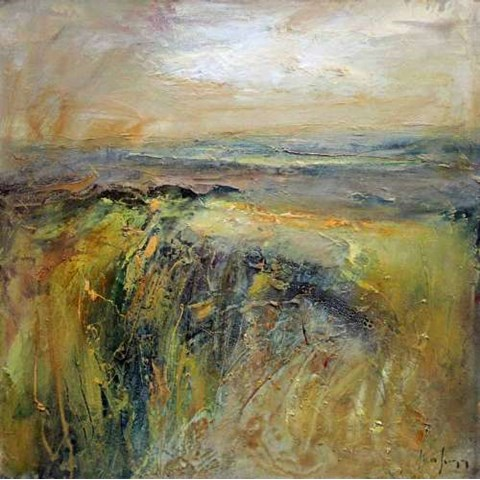 Atop the Yellow Moor by Steve Slimm at the Saffron Walden Gallery