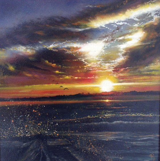 The Light Within by Anthony J Parke at the Saffron Walden Gallery