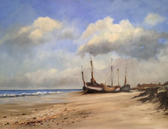 The saffron walden gallery artists roger harvey for East coast fishing