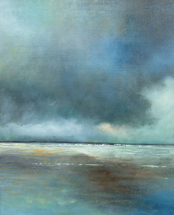 A Blue Day by John Tregembo at the Saffron Walden Gallery