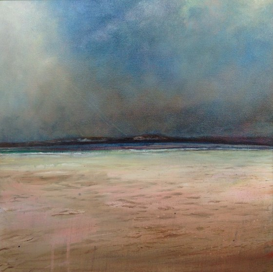 End of Day, Daymer by John Tregembo at the Saffron Walden Gallery