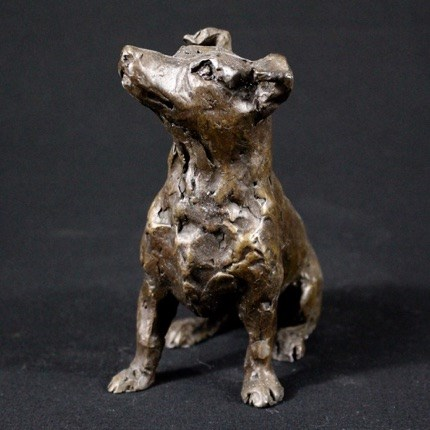 Jack Russell Terrier by Laura Pentreath at the Saffron Walden Gallery