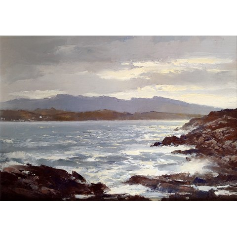 After the Storm, Sound of Sleat by  at the Saffron Walden Gallery