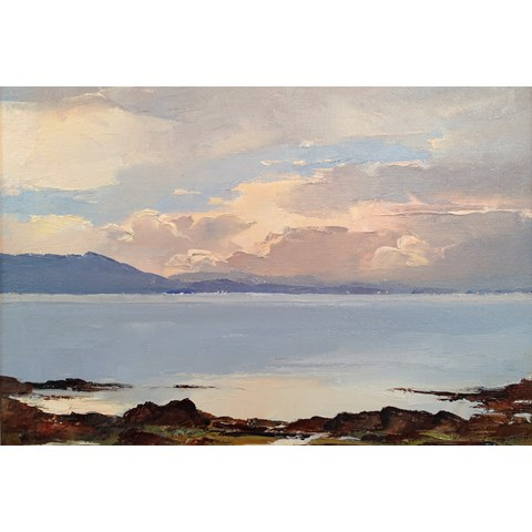 Dawn Over the Sound of Sleat by  at the Saffron Walden Gallery