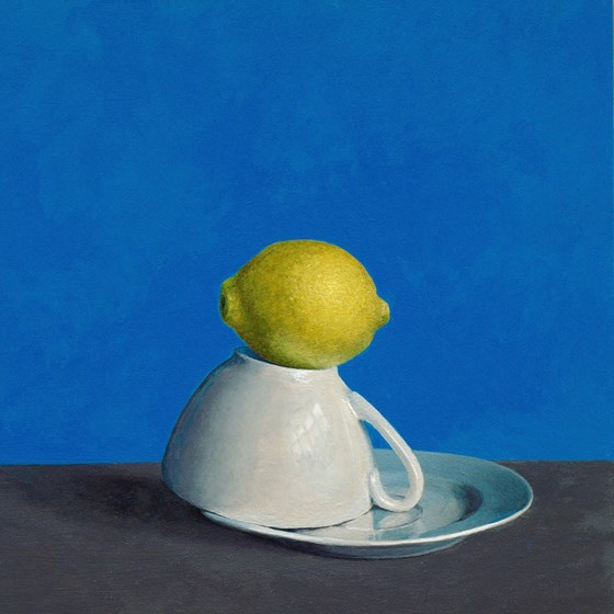 Lemon Tea by David Paul Gleeson at the Saffron Walden Gallery