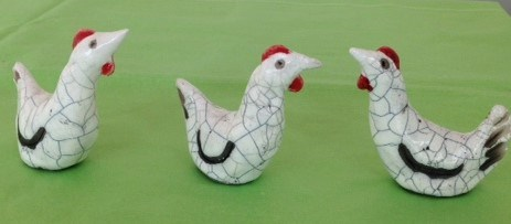 Chicken by Demelza Whitley at the Saffron Walden Gallery