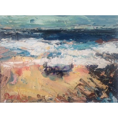 Surf's Up by Deborah Donnelly at the Saffron Walden Gallery
