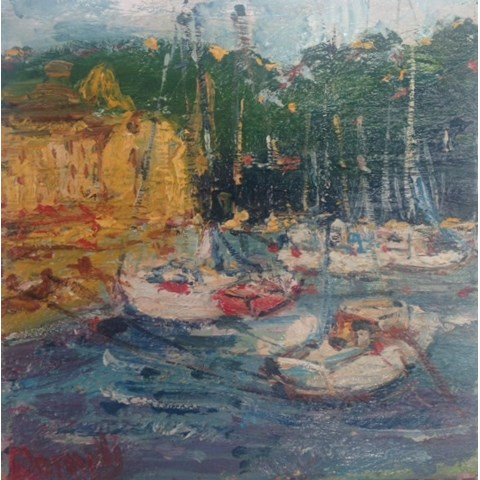 Harbour by Deborah Donnelly at the Saffron Walden Gallery