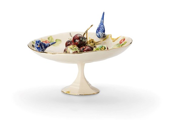 Cake Stand by Remon Jephcott at the Saffron Walden Gallery