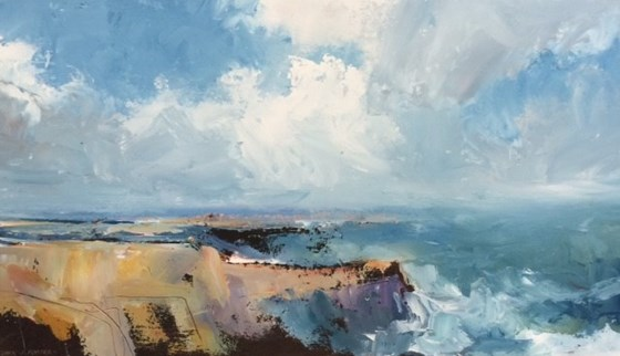 Dorset Ledges by Stephen J Foster at the Saffron Walden Gallery