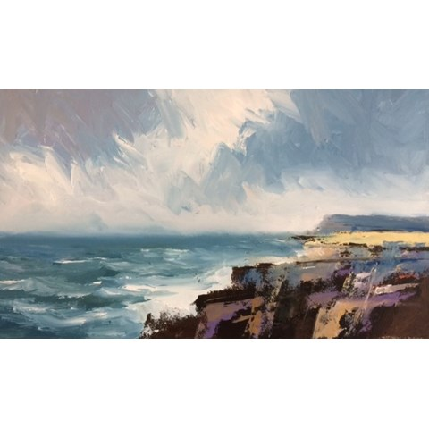 Kimmeridge by Stephen J Foster at the Saffron Walden Gallery