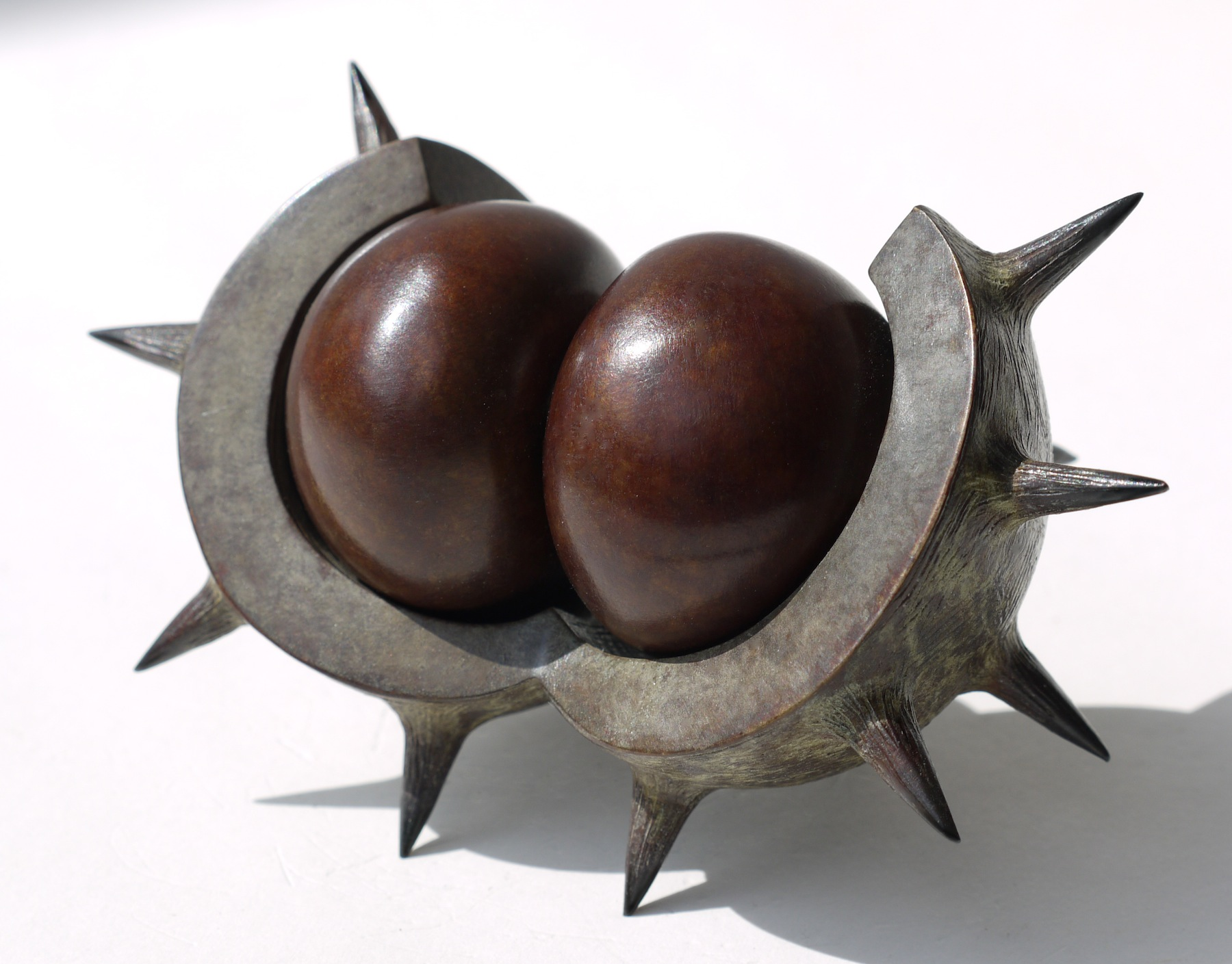 Bound to be Knockers by Mark Richard Hall at the Saffron Walden Gallery