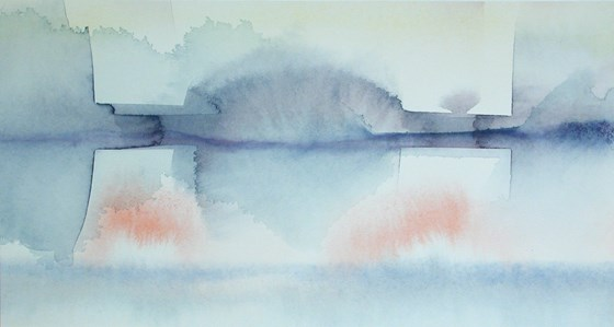Transposing Study by Justin Hawkes at the Saffron Walden Gallery