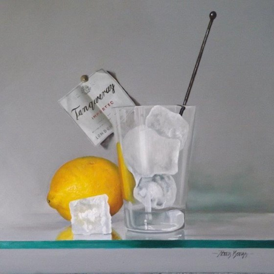 Ice but no Slice by Peter Kotka at the Saffron Walden Gallery