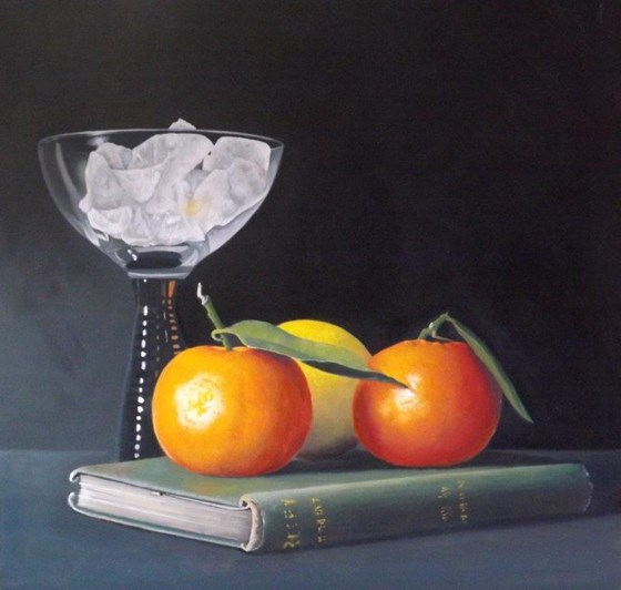 Fruits of Knowledge by Peter Kotka at the Saffron Walden Gallery
