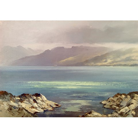 Mist Clearing from Knoydart by  at the Saffron Walden Gallery