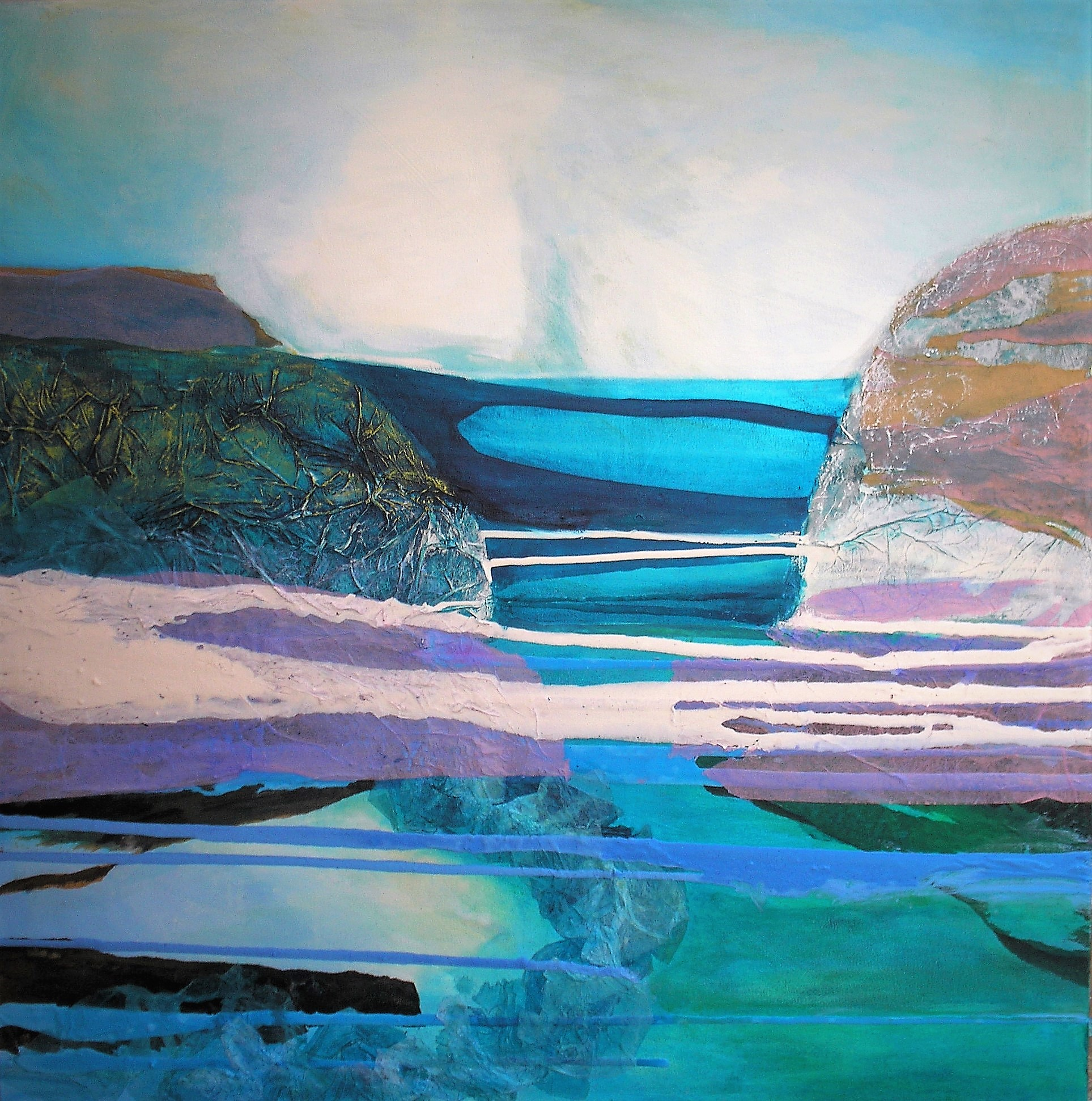 Gulf Stream by Gail de Cordova at the Saffron Walden Gallery