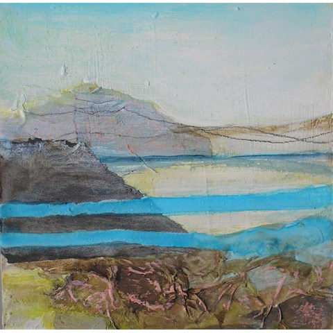 Coastlines by Gail de Cordova at the Saffron Walden Gallery