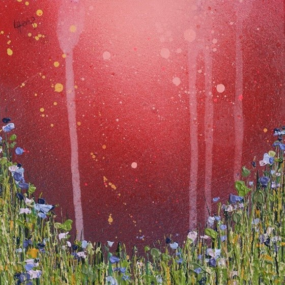 Bluebell Mist by Lee Herring at the Saffron Walden Gallery