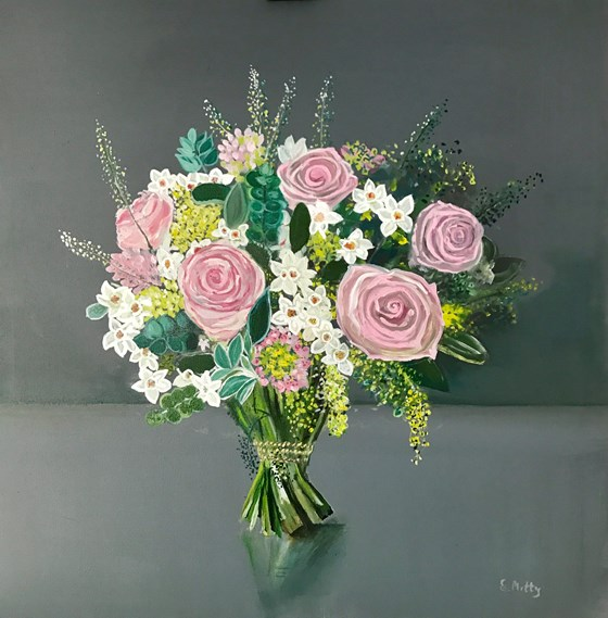 Spring Bouquet by Elisabetta Mutty at the Saffron Walden Gallery