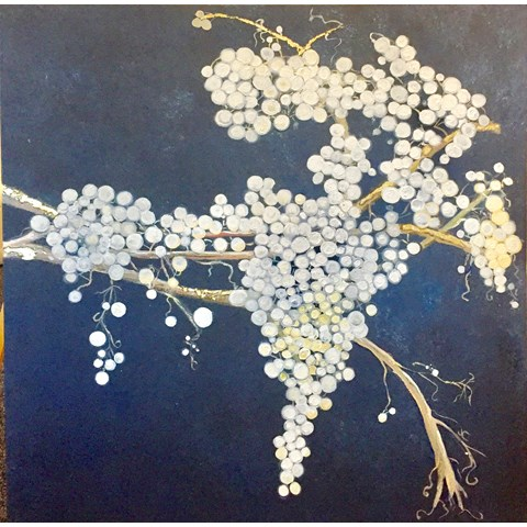 White Berries by Elisabetta Mutty at the Saffron Walden Gallery
