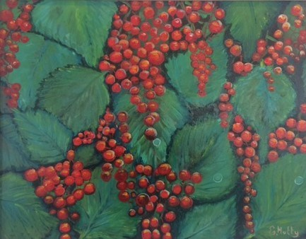 Winter Berries by Elisabetta Mutty at the Saffron Walden Gallery