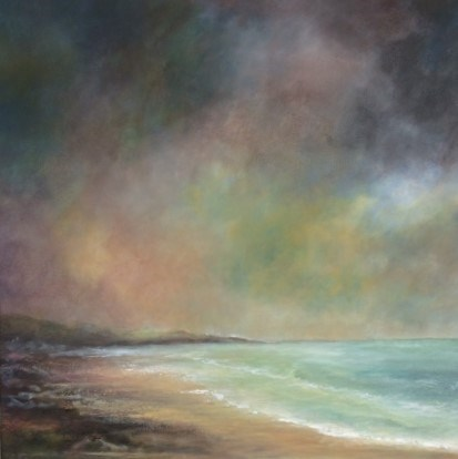 5 AM South Coast by John Tregembo at the Saffron Walden Gallery