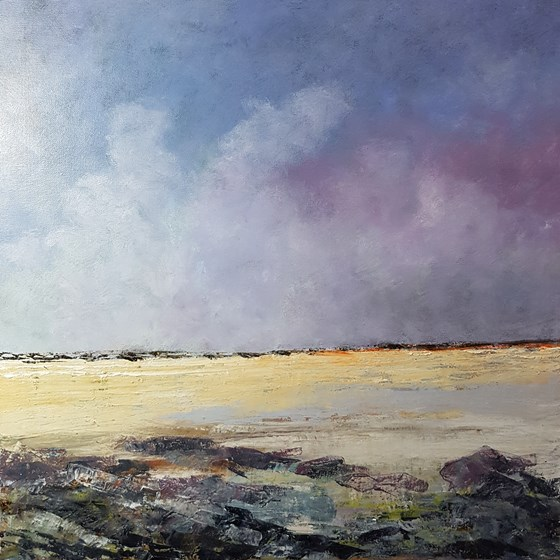 Low Water by John Tregembo at the Saffron Walden Gallery