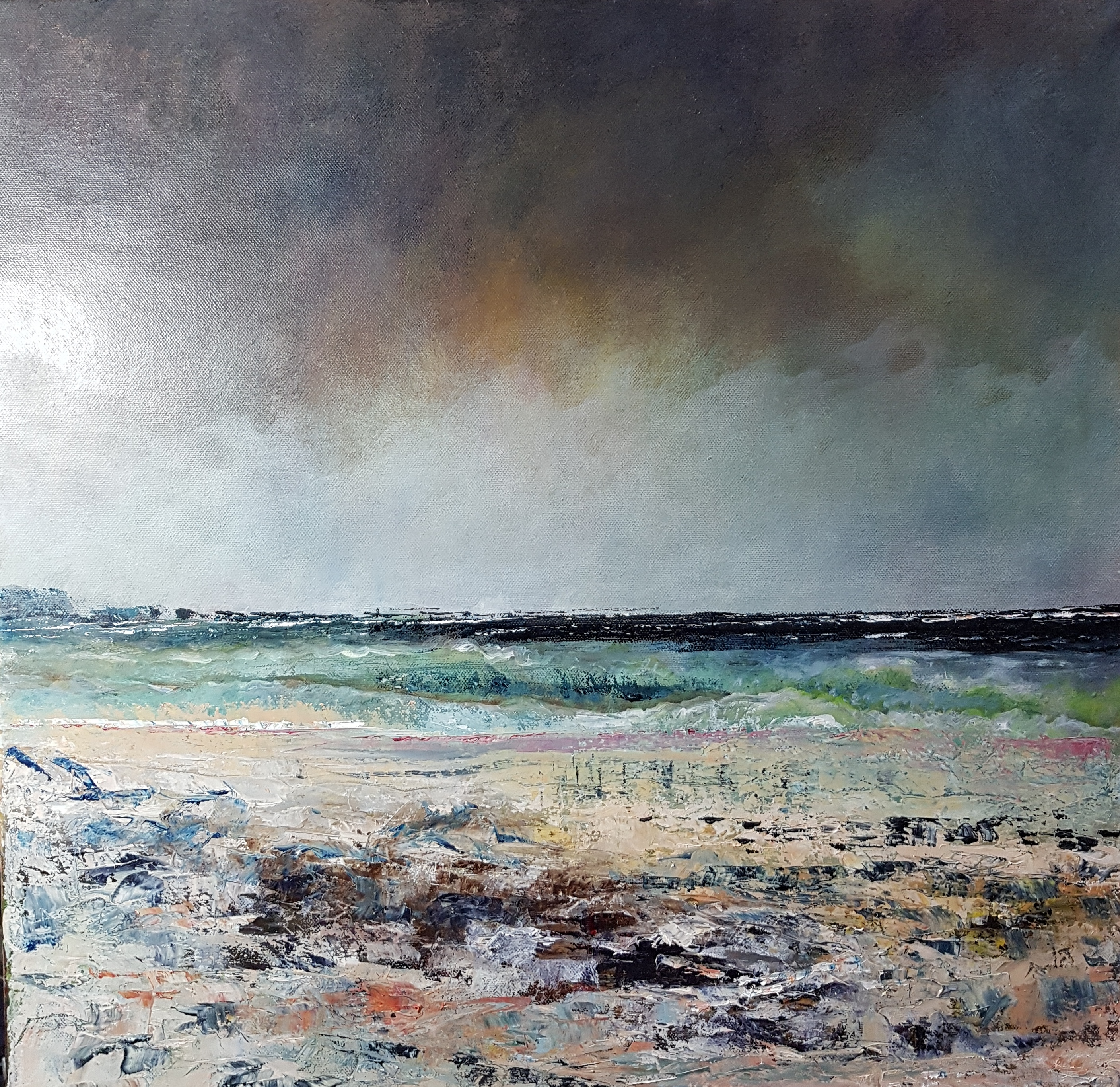 November Lull by John Tregembo at the Saffron Walden Gallery