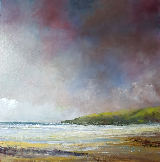 Squally Days by John Tregembo at the Saffron Walden Gallery