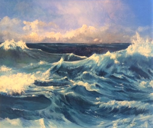 Sea Dance by Roger Harvey at the Saffron Walden Gallery