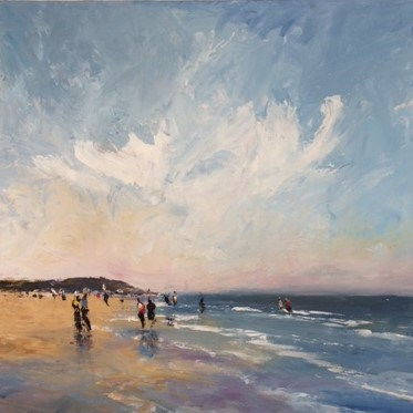 Brancaster by Stephen J Foster at the Saffron Walden Gallery