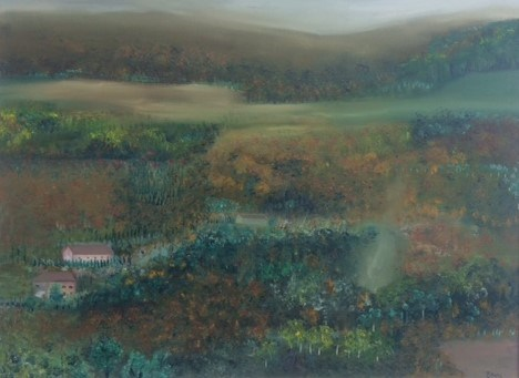 Travelling Through Tuscany by Elisabetta Mutty at the Saffron Walden Gallery