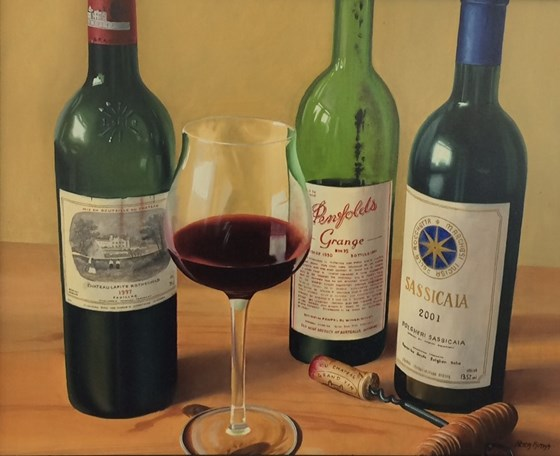 Wines of the World by Peter Kotka at the Saffron Walden Gallery