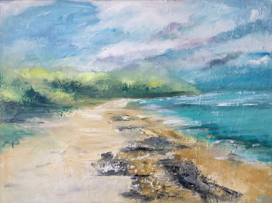 Water's Edge by Nikki Sims at the Saffron Walden Gallery