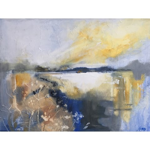 Sea Path by Nikki Sims at the Saffron Walden Gallery