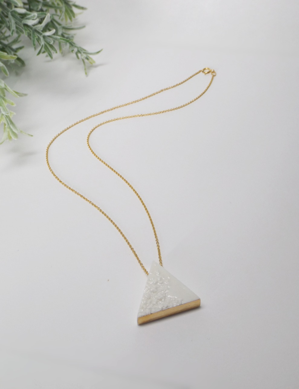 Element Necklace Triangle