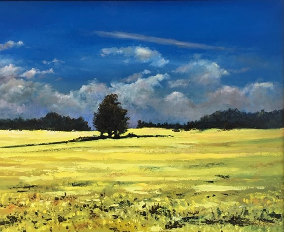 Early Summer Suffolk by Roger Harvey at the Saffron Walden Gallery