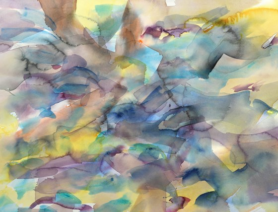 Fluid Variation 30 by Justin Hawkes at the Saffron Walden Gallery