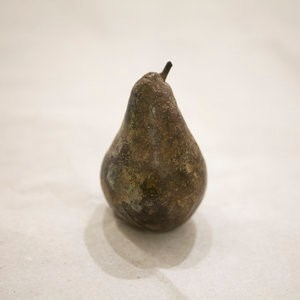 Conference Pear by Alice-Andrea Ewing at the Saffron Walden Gallery